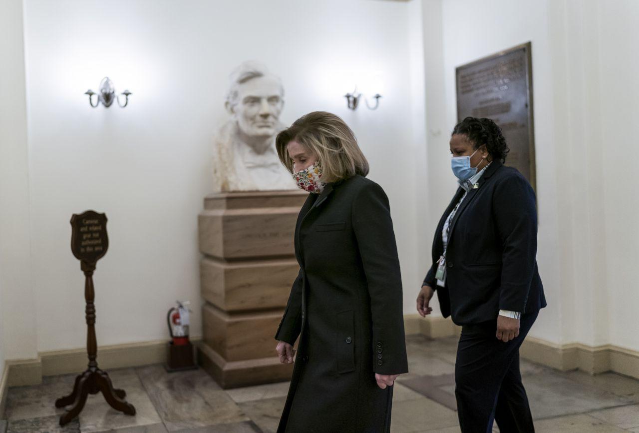 Nancy Pelosi auf dem Weg zu Trumps Impeachment-Verfahren