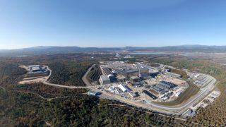 Baustelle von ITER