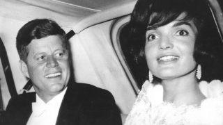 Jackie Kennedy mit John F. Kennedy