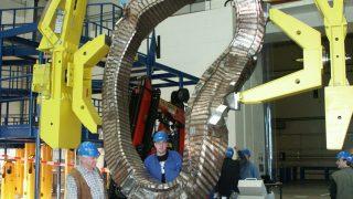 Magnetspule des Wendelstein 7x