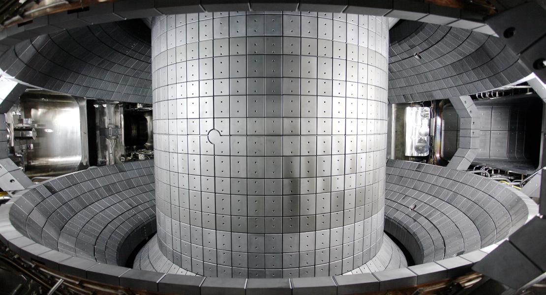 Das Innere des südkoreanischen Fusionsreaktors