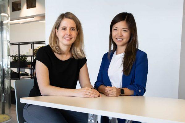 Verena und Mengting, Gründerinnen der Kochplattform Kitchen Stories