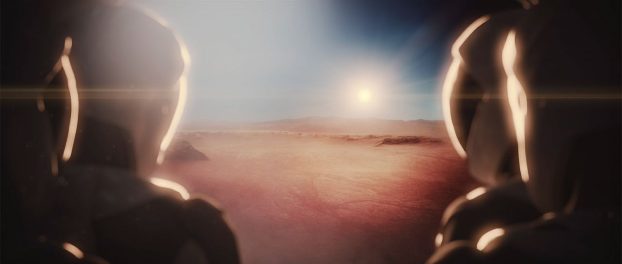 SpaceX auf dem Mars