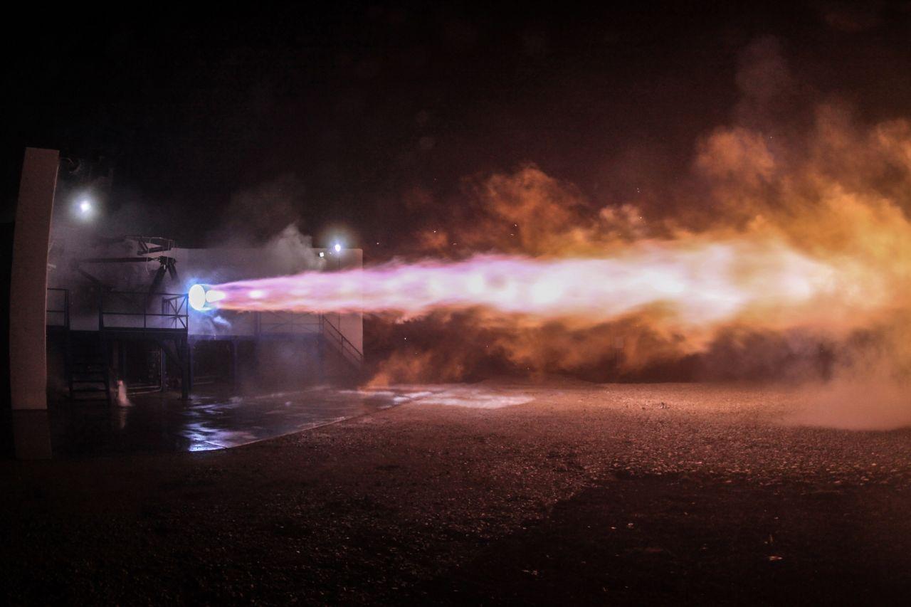 SpaceX Raptor Triebwerk