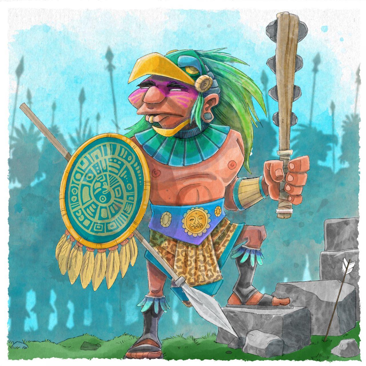 Staatsform im Reich der Azteken