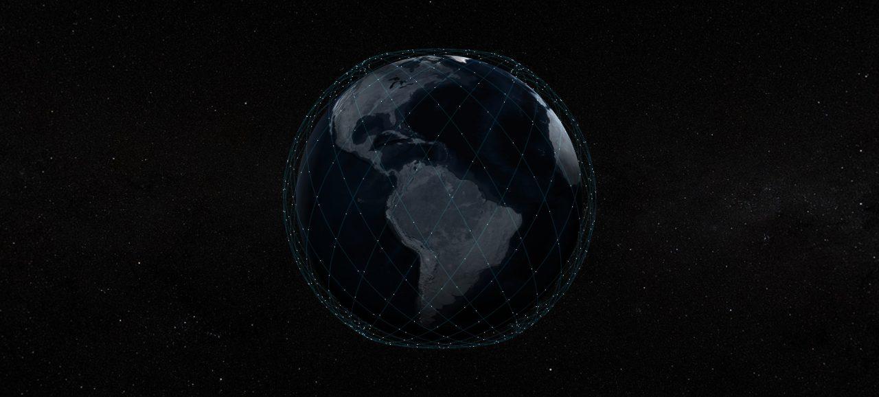 Die Satellitenkonstellation Starlink