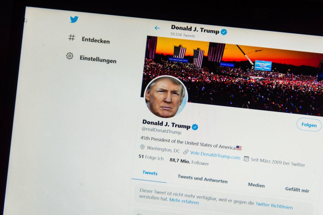 Donald Trumps Twitter Account