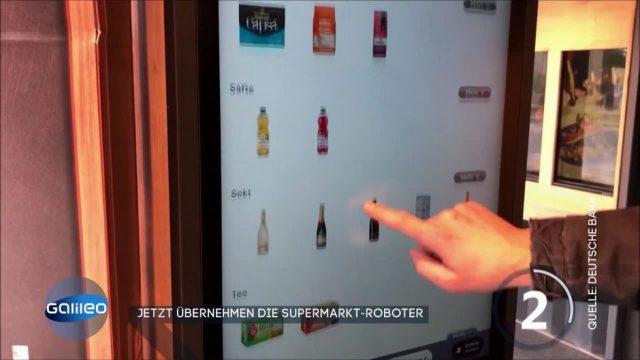 Cleverer Supermarkt-Roboter oder bloß ein großer Snackautomat?