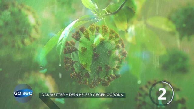 Das Wetter hilft gegen Corona?
