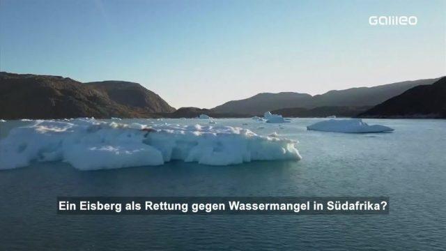 Eisberge als Rettung gegen Wassermangel