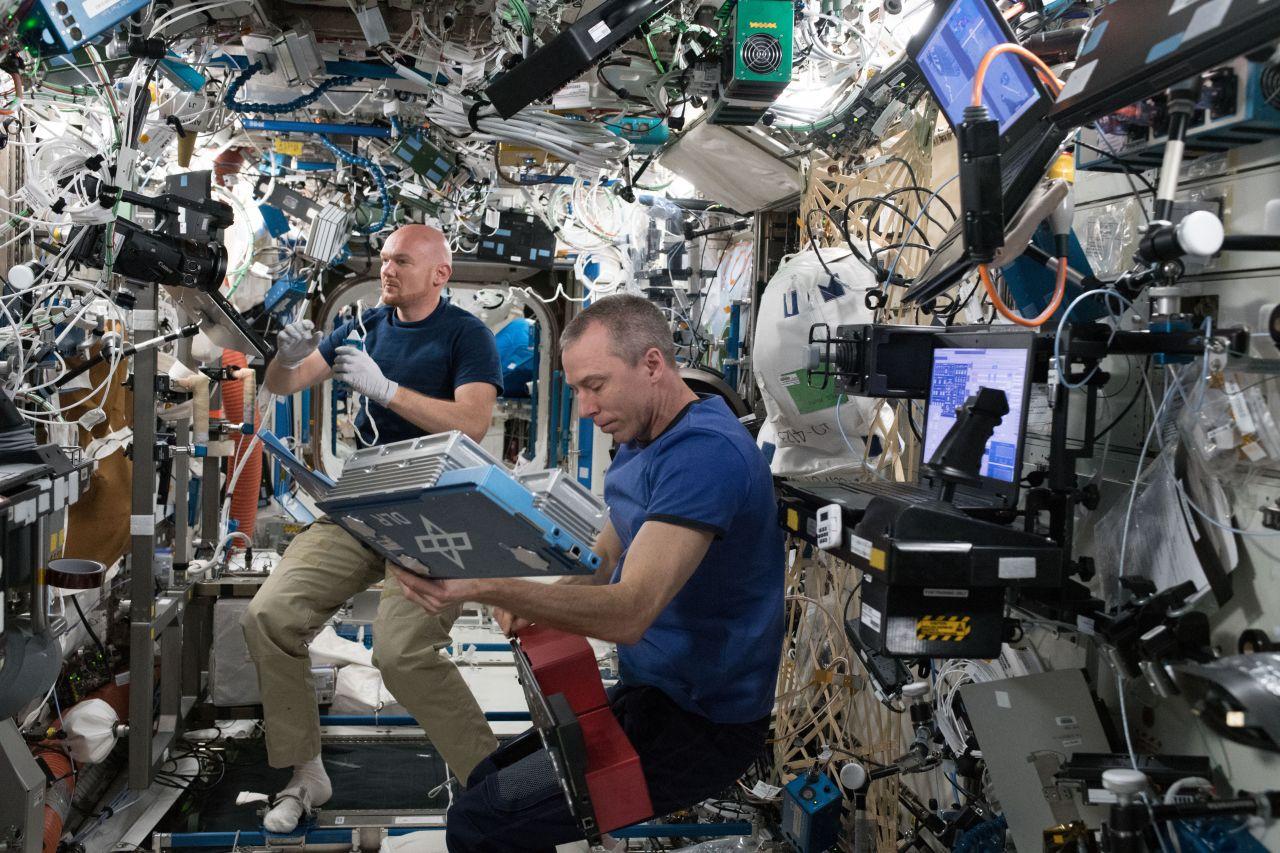 Alexander Gerst 2018 auf der ISS