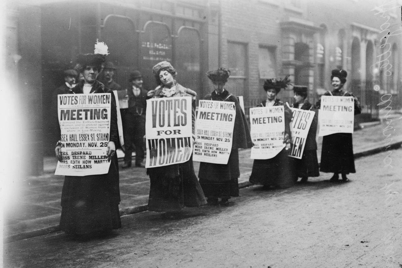 Sufragetten in London - Pionierinnen des Frauenwahlrechts