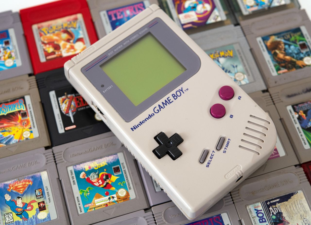 Gameboy mit Spielen