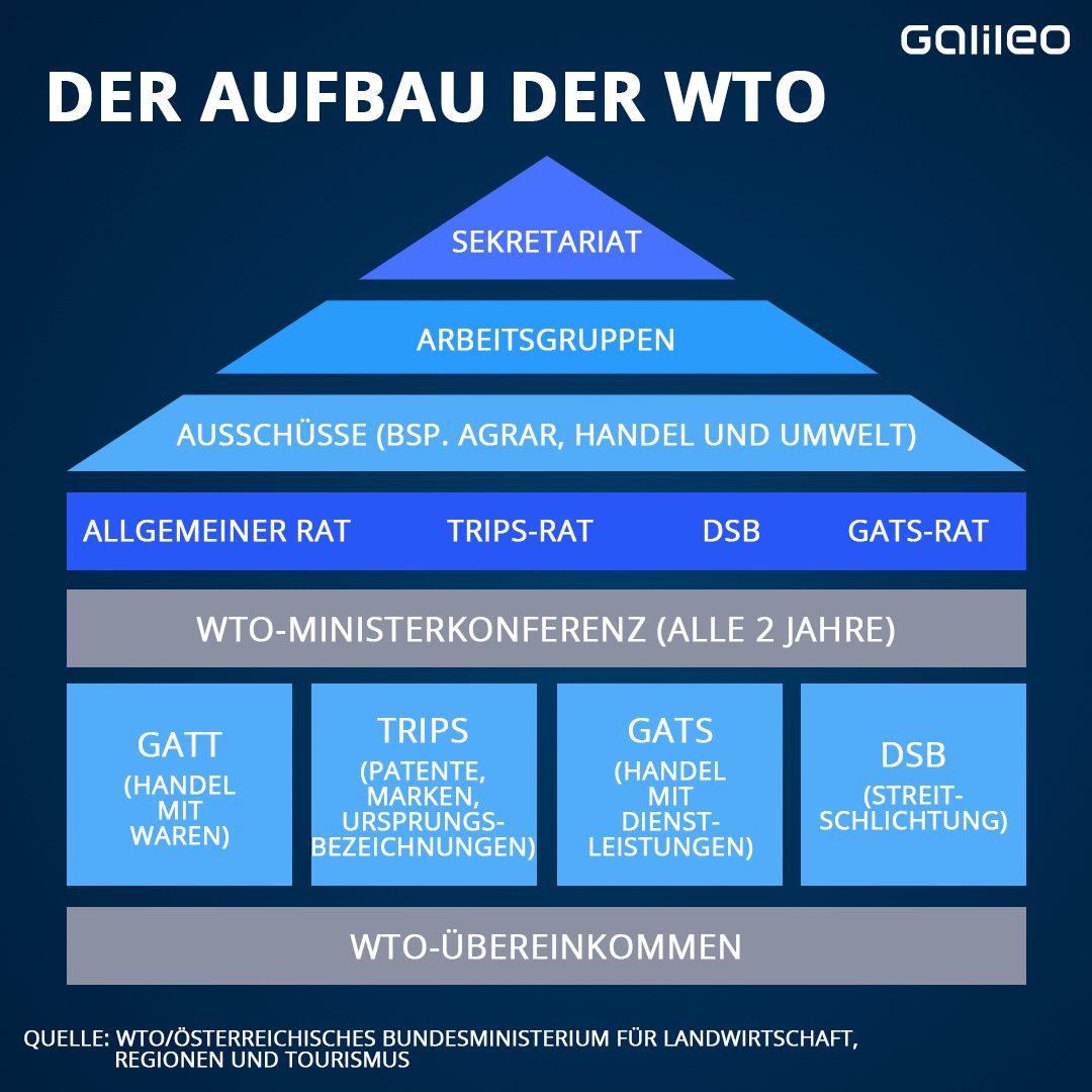 Der Aufbau der WTO