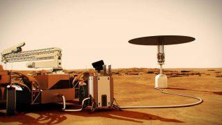 Kraftquelle auf dem Mars