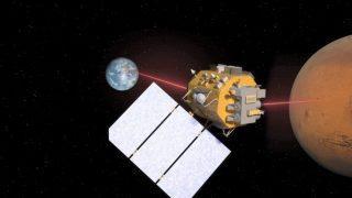 Laserkommunikation von Mars zu Erde