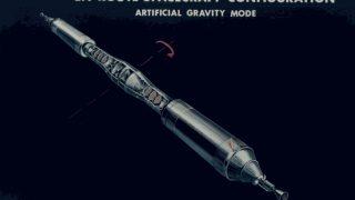 Geplantes Marsraumschiff des Raketenkonstrukteurs Wernher von Braun