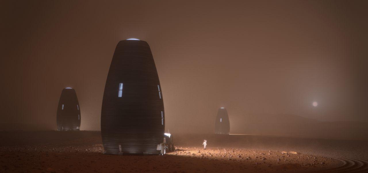 Marsbehausung Marsha