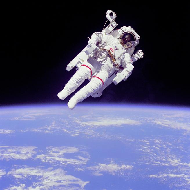 NASA-Astronaut Bruce McCandless, 1984
