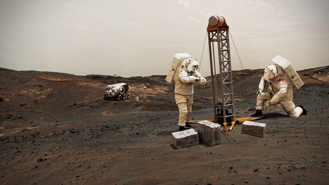 NASA-Raumanzüge für den Mars