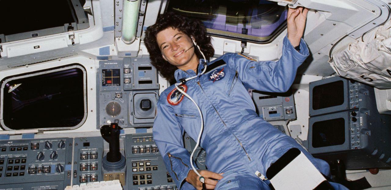 Die erste US-Astronautin Sally Ride