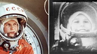 Valentina Tereshkova, die erste Frau im All