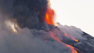 Aschewolke Vulkanausbruch