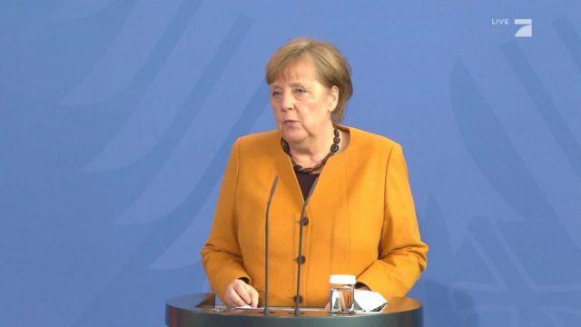 Statement: Angela Merkel zur gekippten Osterruhe