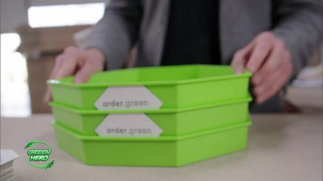 Greenhero: Endlch Pizza ohne Karton?