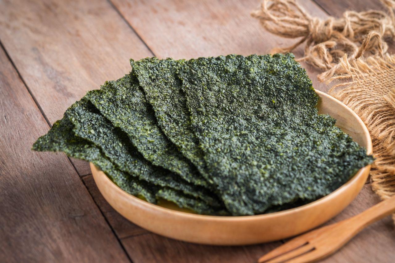 Algen-Blätter