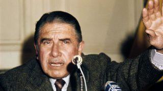 Chilenischer Herrscher Augusto Pinochet
