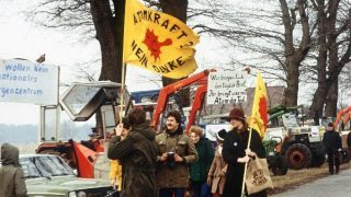 Proteste gegen Atomkraft 1976