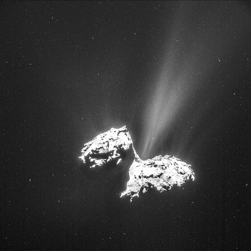 Der Komet Tschurjumow-Gerassimenko