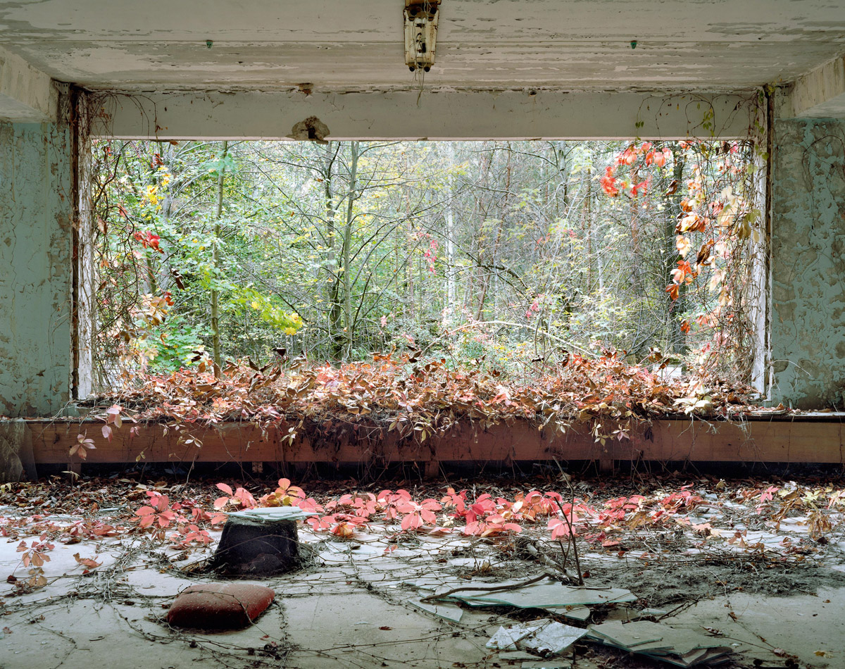 Lobby Kinderkrankenhaus Bilder Tschernobyl Sperrgebiet