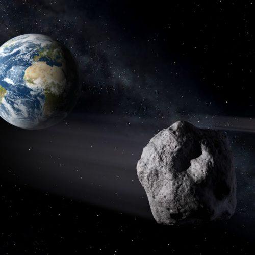 Asteroid passiert die Erde