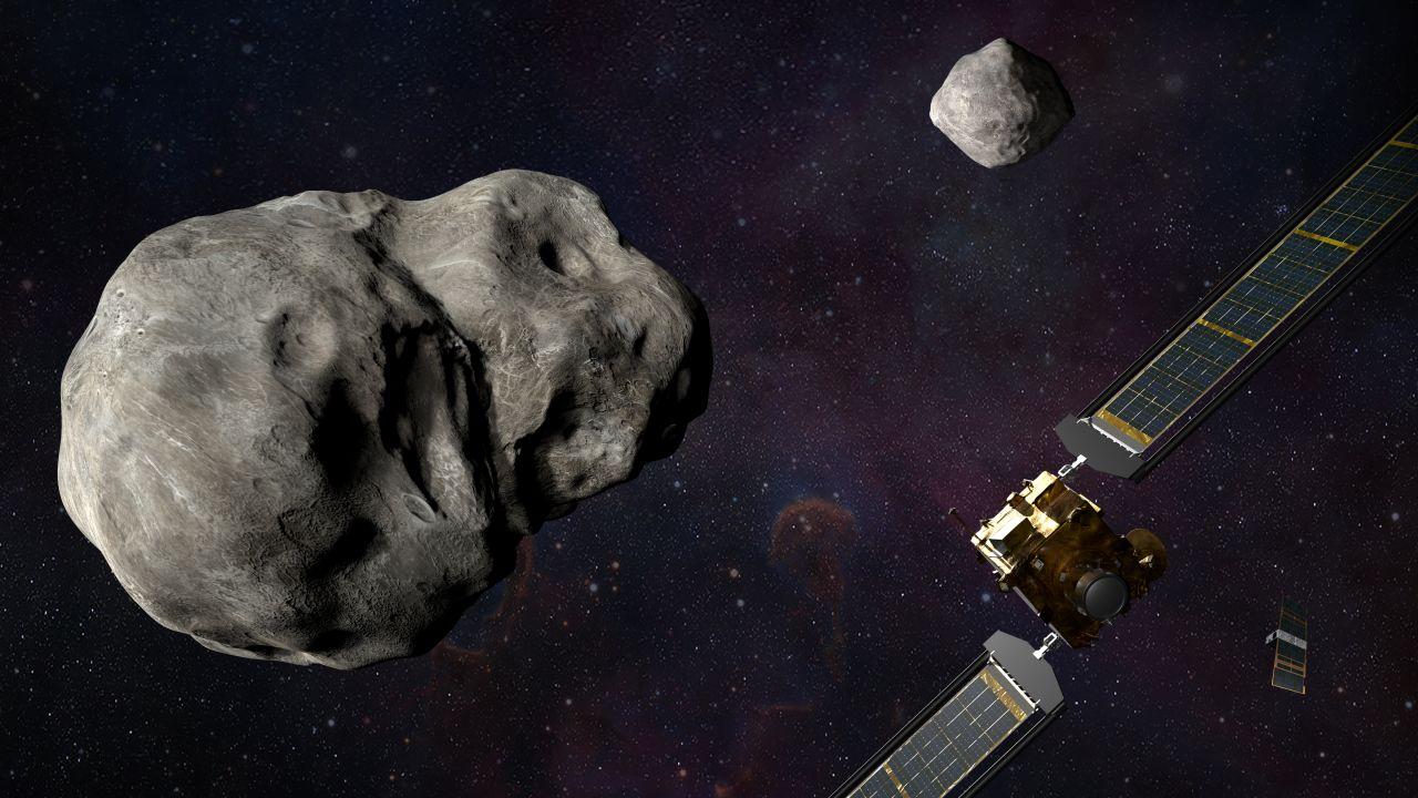 DART: Double Asteroid Redirection Test auf Dimorphos_
