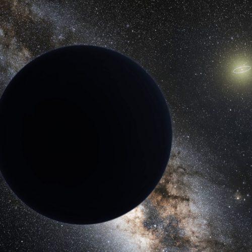 Illustration des ominösen 9. Planeten