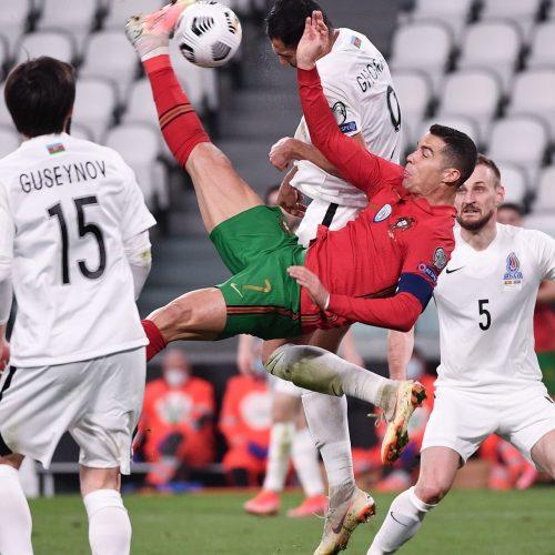 Christiano Ronaldo setzt auf polyphasischen Schlaf.