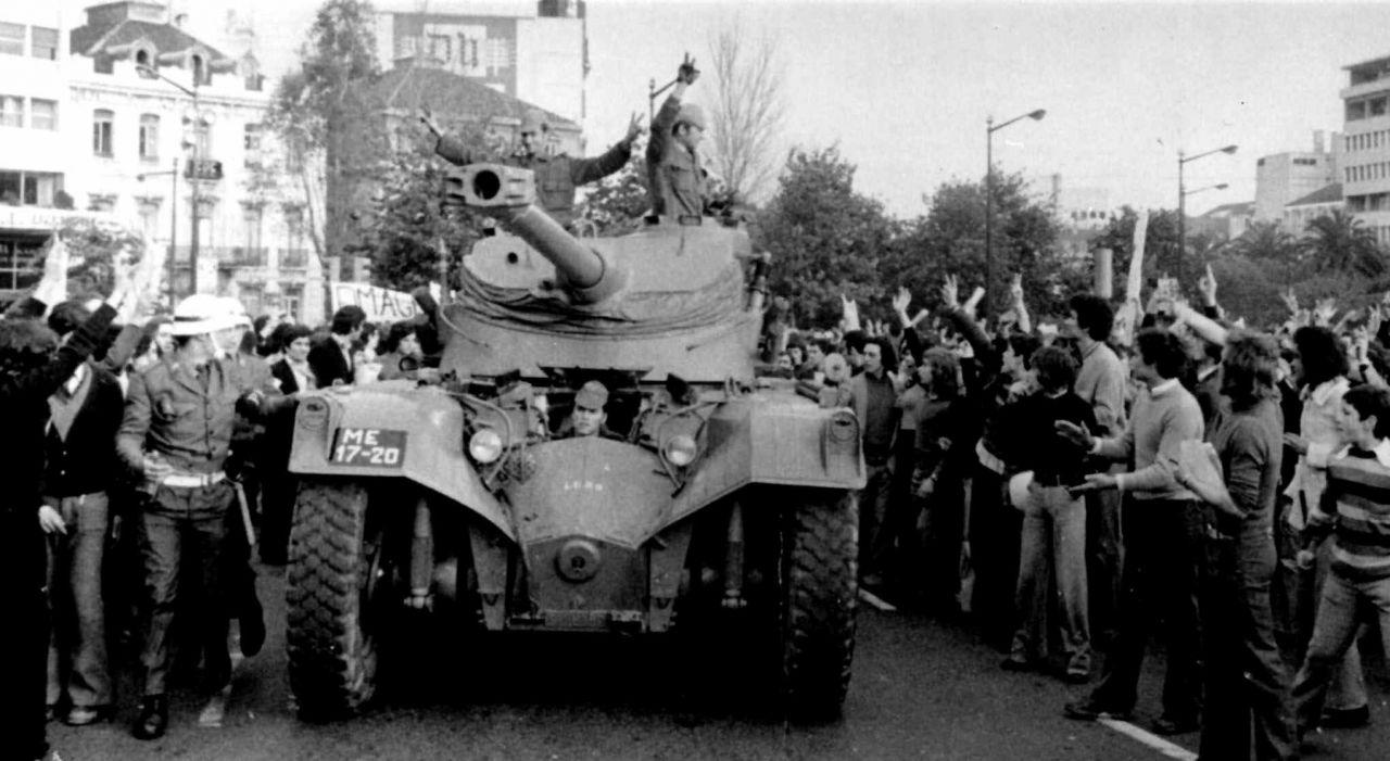 Militärputsch in Portugal 1974