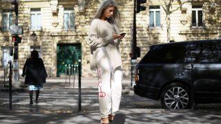 Jogginghose Gucci Streetstyle