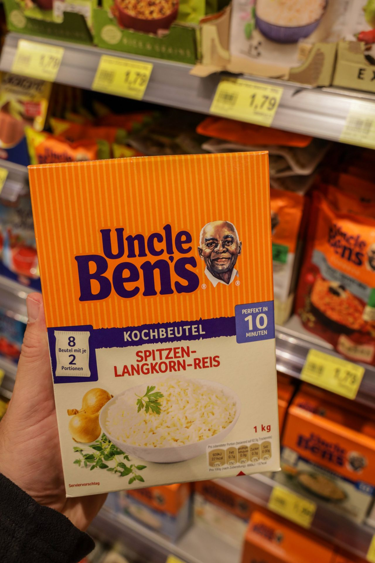 Von Uncle Ben's zu Ben's Original: Hilft Rebranding gegen Rassismus?