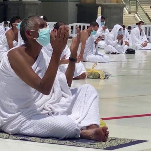 Auch während der Corona-Pandemie wird Ramadan gefeiert. Aber das sieht in Mekka ganz anderes aus wie sonst.