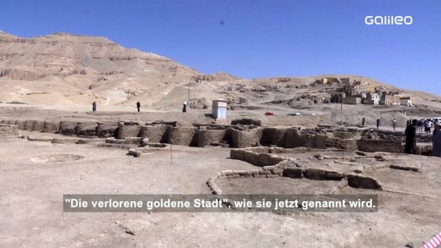 Ägypten: Verlorene goldene Stadt entdeckt