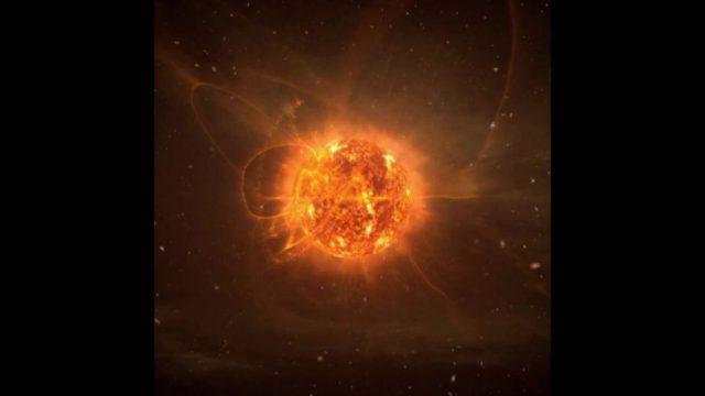 Beteigeuze: Der rote Riesenstern - 10s