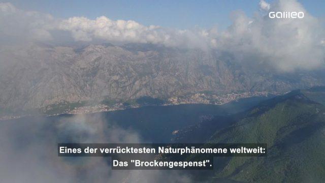 Das Brockengespenst: Ein unglaubliches Naturphänomen