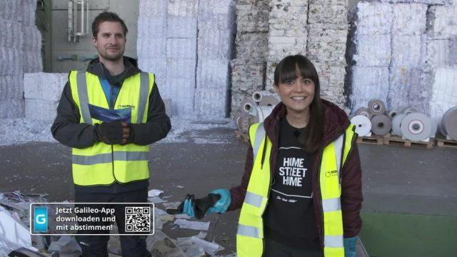 Du gegen Galileo: Recycling