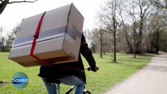 G-testet: Paketgurt zum einfachen Transport