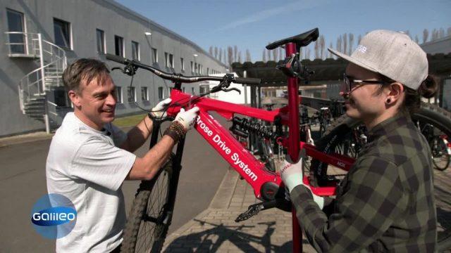 Harro testet und stellt 2 Tage lang E-Bike-Motoren her