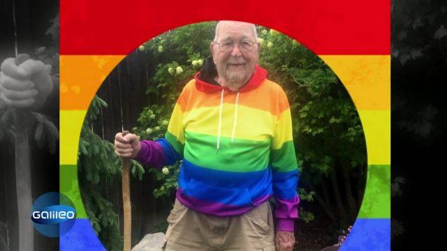 """""""I am free"""": 90-Jähriger outet sich endlich homosexuell"""