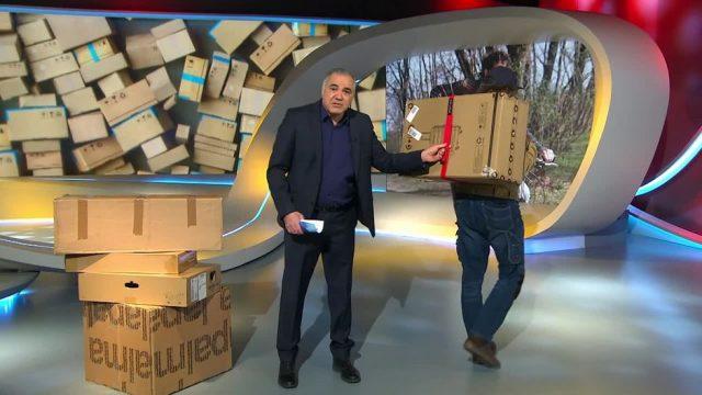 Mittwoch: Eine Innovation zum Ausliefern von Paketen
